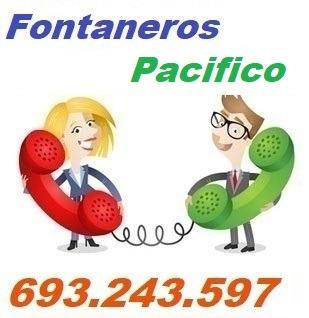 Telefono de la empresa fontaneros Pacifico